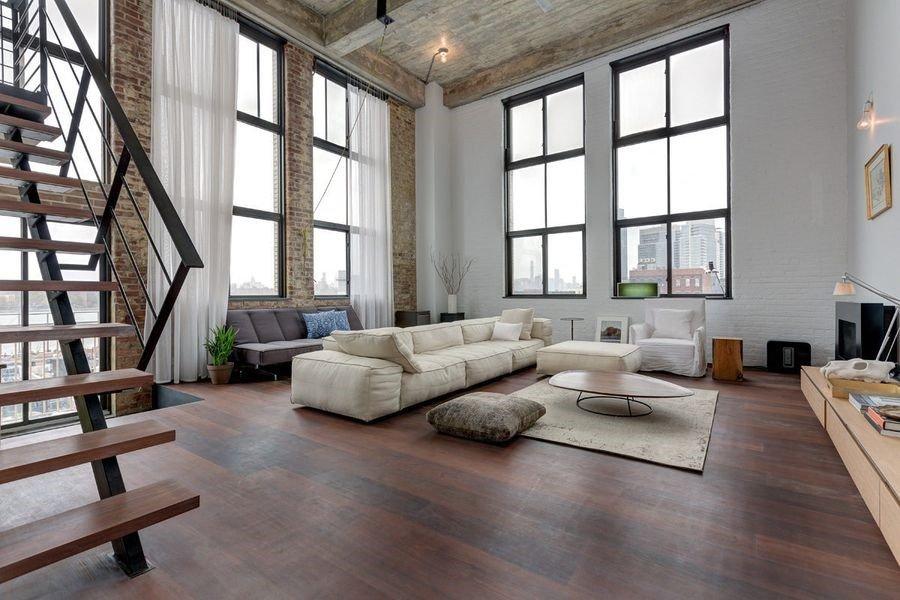 arredamento stile industriale new york